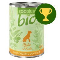 Recompensa lunii! zooplus Bio 1 x 400g Pui bio cu morcov