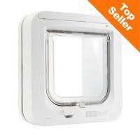 SureFlap mikročip mačja loputa, bela