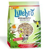 Lillebro Nourriture sans déchets pour oiseaux sauvages, 4 kg