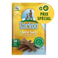 Barkoo Dental Snacks 7 friandises pour petit chien