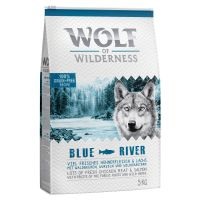 "1 kg Wolf of Wilderness Adult ""Blue River"" - Laks"