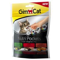 150g GimCat Nutri Pockets Malt Vitamin Mix