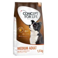 1.5kg Concept for Life Medium Adult Dry Dog Food