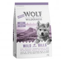 1kg Little Wolf of Wilderness Junior 'Wild Hills' - Duck