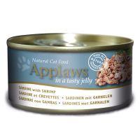 6 x 70 g Applaws latas em gelatina atum e algas marinhas
