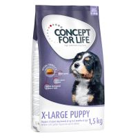 1,5 kg Concept for Life X-Large Puppy