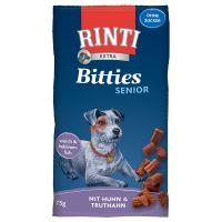 RINTI Extra Bitties Senior Pui & curcan 75 g