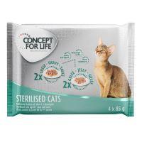Concept for Life Sterilised zkušební balení - 4 x 85 g