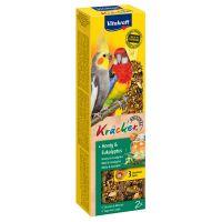 2 stk Vitakraft Kjeks for parakitter med honning