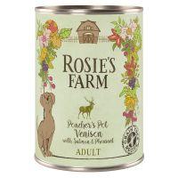 Rosie's Farm Adult Mix (Kylling, okse, lam) 6 x 400 g