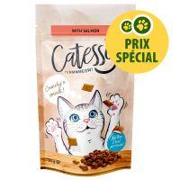 Catessy Friandises fourrées 65g saumon pour chat