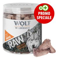 Snack premium liofilizzati Wolf of Wilderness - RAW Cuori di Pollo (70 g)
