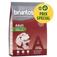 Briantos Adult agneau, riz 3 kg pour chien