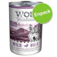 Wolf of Wilderness Green Fields - Lamb 400 g