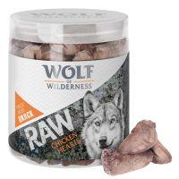 Wolf of Wilderness - RAW snack (mrazem sušený) - Kuřecí srdce (70 g)