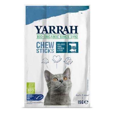 Yarrah Bio Natures Finest pour chat - 3 x 3 bâtonnets bio