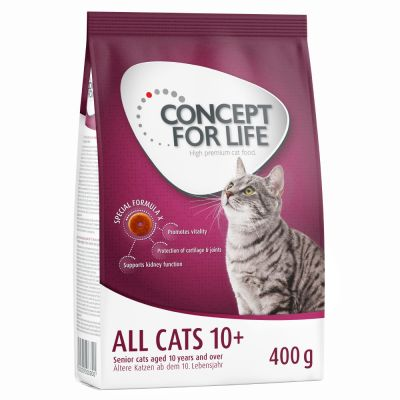 400g Concept for Life All Cats 10+