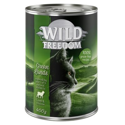 Lot mixte Wild Freedom Adult 6 x 200 g