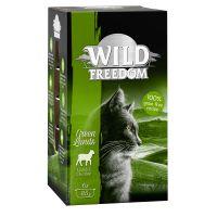 6 x 85 g Wild Freedom Adult Green Lands - Lamm & Huhn