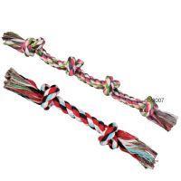 Cuerda Trixie multicolor con nudos para perros 37 cm, 300 g