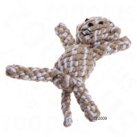 18cm Monkey Cotton Rope Dog Toy