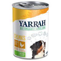 1 x 405 g Yarrah Bio Bröckchen, Huhn