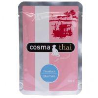 6 x 100 g Cosma Thai portionspåsar (Tonfisk & krabbkött)