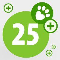 Spende für bedürftige Tiere: 25 zooPunkte