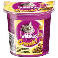 100 g Whiskas Crunch med Kylling, Kalkun & And