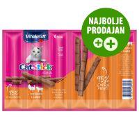 Vitakraft Cat Stick Classic - puran & jagnjetina 12 x 6 g