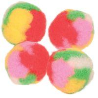 4 ks Trixie pomponové míčky s Catnipem