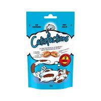 60 g Catisfactions snacks para gato - salmão