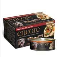 5 x 156g Encore Dog Tin Chicken Selection