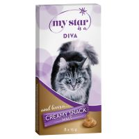 My Star is a Diva - Malt Creamy Snack 8 x 15 g