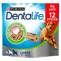 12 Sticks Purina Dentalife Snacks - Maxi Pack Large