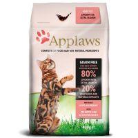 400 g Applaws Adult com frango e salmão para gatos