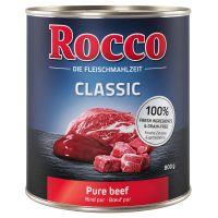 6 x 800 g Rocco Classic Vaca pura