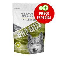 180 g Wolf of Wilderness Snack - Wild Bites com cordeiro para cães