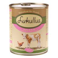 Lukullus Junior Pui & Vițel 6 x 400 g