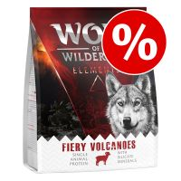 "Månedens præmie: 300 g Wolf of Wilderness ""Fiery Volcanoes"" - Lam"