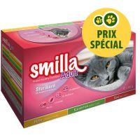 Lot mixte Smilla Sterilised pour chat