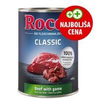 Rocco Classic govedina z divjačino 1 x 400 g