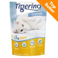Kočkolit Tigerino Crystals, 5 l (cca 2,1 kg)