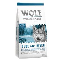"Wolf of Wilderness Adult ""Blue River"" - Salmone (1 kg)"