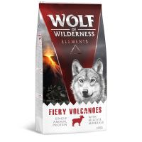 Wolf of Wilderness Fiery Volcanoes - lammas - 300 g