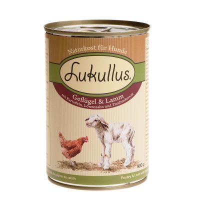 Lukullus Pollo e Agnello (1 x 400 g)