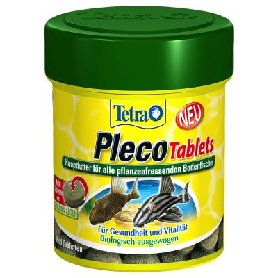 120 Tetra Pleco Tablets Fish Food