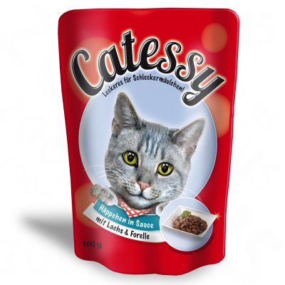 12 x 100g Catessy Chunks in Sauce Mixed Pack