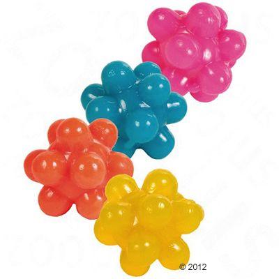 4 Trixie Nub Toy Balls