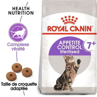 Royal Canin Sterilised 7+ Appetite Control pour chat - 400 g